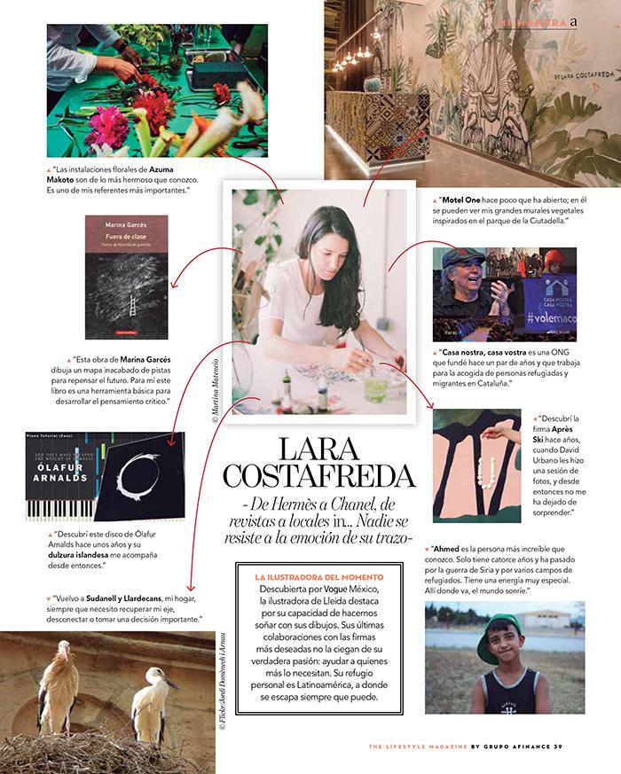 lara costafreda imprescindibels A magazine