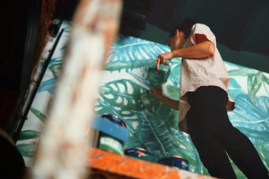 Lara costafreda mural vegetal mar del plata argentina